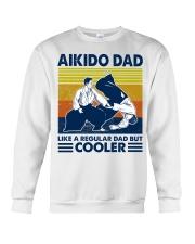 Aikido Dad Like A Regular Dad But Cooler Crewneck Sweatshirt thumbnail