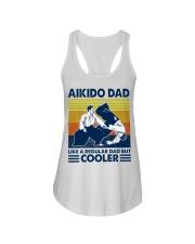 Aikido Dad Like A Regular Dad But Cooler Ladies Flowy Tank thumbnail