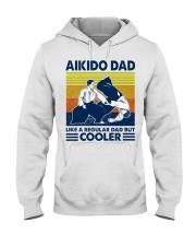 Aikido Dad Like A Regular Dad But Cooler Hooded Sweatshirt thumbnail