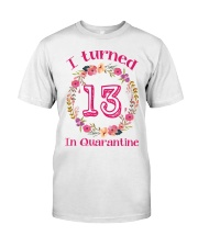 13th Birthday 13 Years Old Classic T-Shirt front