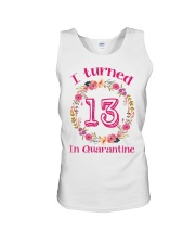 13th Birthday 13 Years Old Unisex Tank tile