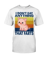 I Don't Eat Anything That Farts Classic T-Shirt tile