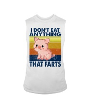 I Don't Eat Anything That Farts Sleeveless Tee thumbnail