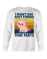 I Don't Eat Anything That Farts Crewneck Sweatshirt thumbnail