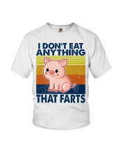 I Don't Eat Anything That Farts Youth T-Shirt thumbnail