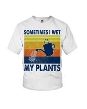 Sometimes I Wet My Plants Youth T-Shirt thumbnail