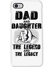 Dad And Daughter The Legend And The Legacy Phone Case thumbnail