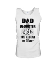 Dad And Daughter The Legend And The Legacy Unisex Tank thumbnail