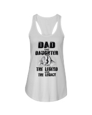 Dad And Daughter The Legend And The Legacy Ladies Flowy Tank thumbnail