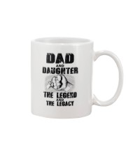 Dad And Daughter The Legend And The Legacy Mug thumbnail