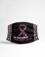 In October We wear pink Cloth face mask aos-face-mask-lifestyle-22