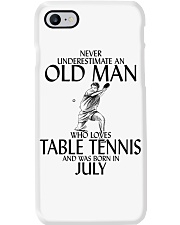 Never Underestimate Old Man Table Tennis July Phone Case thumbnail