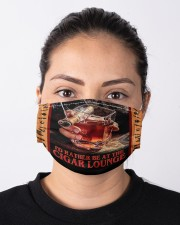 I'd Rather Be at the Cigar Lounge Cloth face mask aos-face-mask-lifestyle-01