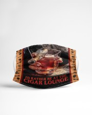 I'd Rather Be at the Cigar Lounge Cloth face mask aos-face-mask-lifestyle-22