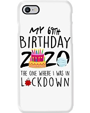 69th Birthday 69 Years Old Phone Case tile
