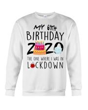 69th Birthday 69 Years Old Crewneck Sweatshirt tile