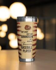 Baseball Personalized Christmas Gift 20oz Tumbler aos-20oz-tumbler-lifestyle-front-04