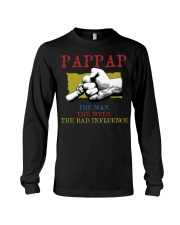 PAPPAP The Man The Myth The Bad Influence Long Sleeve Tee tile