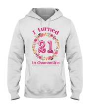 21st Birthday 21 Years Old Hooded Sweatshirt thumbnail