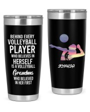 Volleyball Player Personalized Christmas Gift 20oz Tumbler front