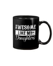 Awesome Like My Daughters Mug tile