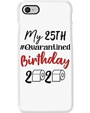 25th Birthday Quarantined 25 Year Old Phone Case thumbnail