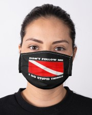 Dont follow me i do stupid things  Cloth face mask aos-face-mask-lifestyle-01