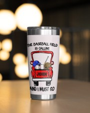 The baseball field-Personalized Christmas Gift 20oz Tumbler aos-20oz-tumbler-lifestyle-front-04