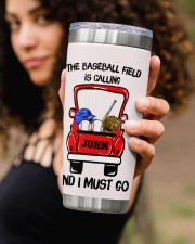 The baseball field-Personalized Christmas Gift 20oz Tumbler aos-20oz-tumbler-lifestyle-front-93