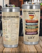 Just a girl who loves Books Personalized 20oz Tumbler aos-20oz-tumbler-lifestyle-front-56
