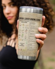 Just a girl who loves Books Personalized 20oz Tumbler aos-20oz-tumbler-lifestyle-front-93