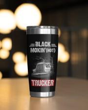 Black smokin' hot trucker Personalized Gif 20oz Tumbler aos-20oz-tumbler-lifestyle-front-04