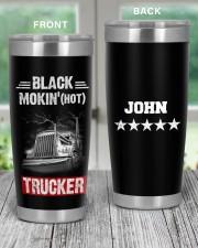Black smokin' hot trucker Personalized Gif 20oz Tumbler aos-20oz-tumbler-lifestyle-front-59