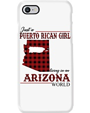 Just A Puerto Rican Girl In Arizona World Phone Case thumbnail