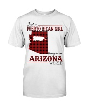 Just A Puerto Rican Girl In Arizona World Classic T-Shirt front