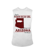 Just A Puerto Rican Girl In Arizona World Sleeveless Tee thumbnail
