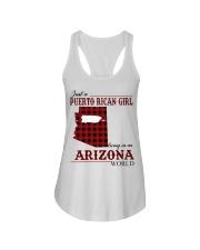 Just A Puerto Rican Girl In Arizona World Ladies Flowy Tank thumbnail
