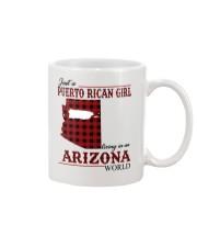 Just A Puerto Rican Girl In Arizona World Mug thumbnail