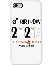 32nd Birthday 32 Years Old Phone Case thumbnail