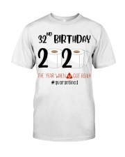 32nd Birthday 32 Years Old Classic T-Shirt tile