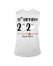 32nd Birthday 32 Years Old Sleeveless Tee thumbnail