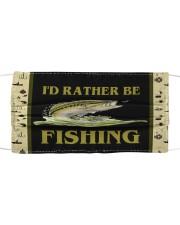 I'D Rather BE Fishing Mask tile