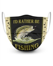 I'D Rather BE Fishing Masks tile
