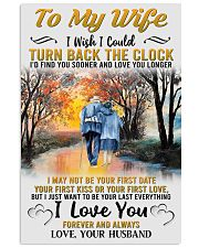 To My Wife From Husband 24x36 Poster front