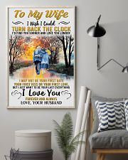 To My Wife From Husband 24x36 Poster lifestyle-poster-1