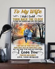 To My Wife From Husband 24x36 Poster lifestyle-poster-2