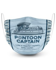 Pontoon mask 2 Layer Face Mask - Single front