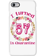 57th Birthday 57 Years Old Phone Case tile
