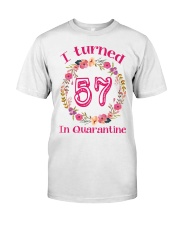 57th Birthday 57 Years Old Classic T-Shirt front