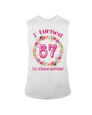 57th Birthday 57 Years Old Sleeveless Tee thumbnail
